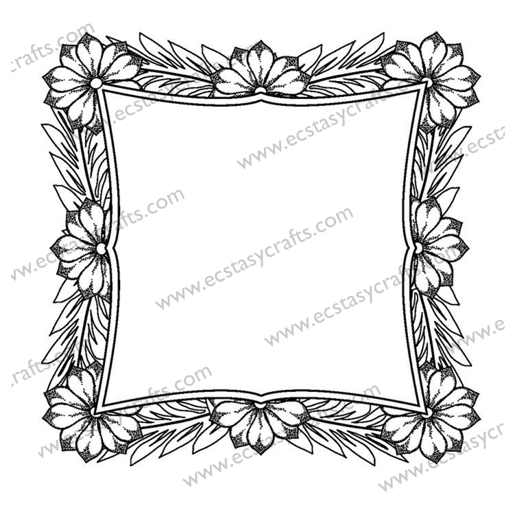 Creative Expressions Sue Wilson Stamps - Regal Blossom Outer Frame