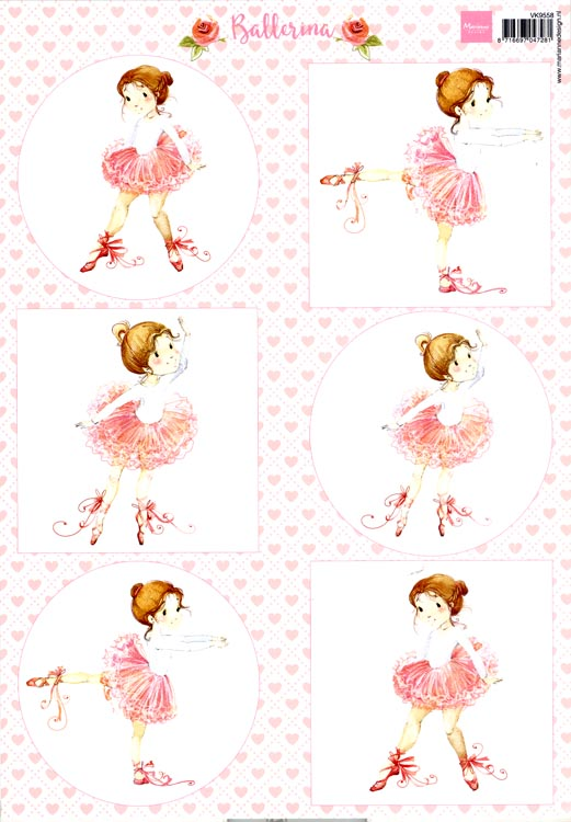 Cutting Sheet: Ballerina