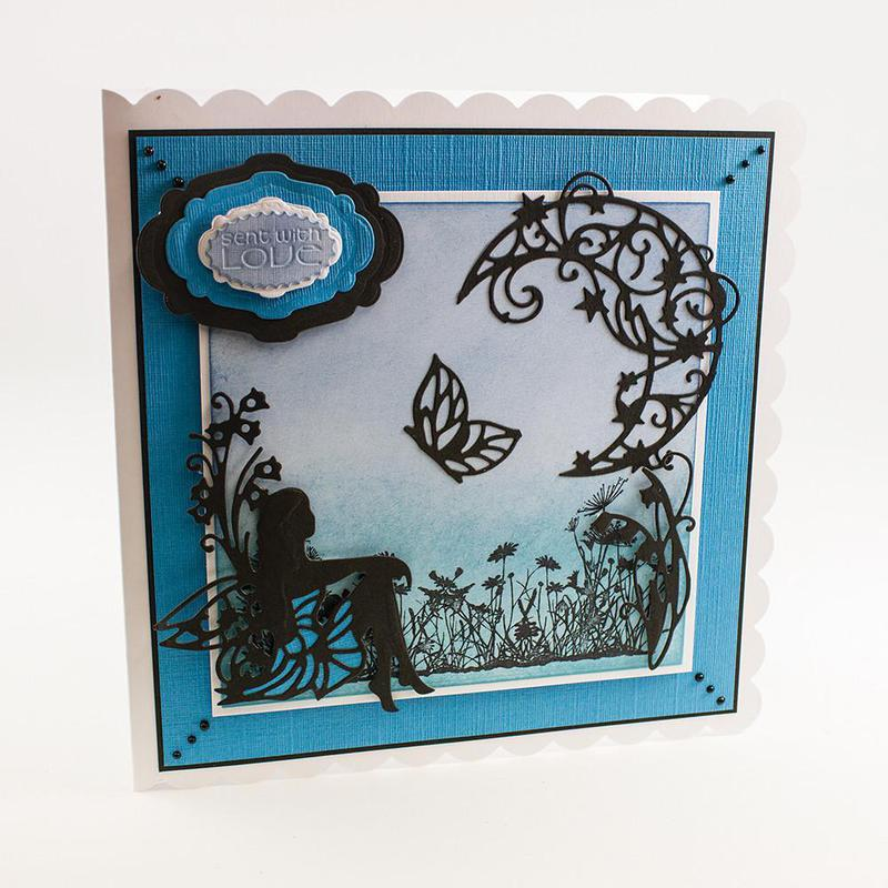 Rococo Petite Die - Bluebell Butterfly - 1010e