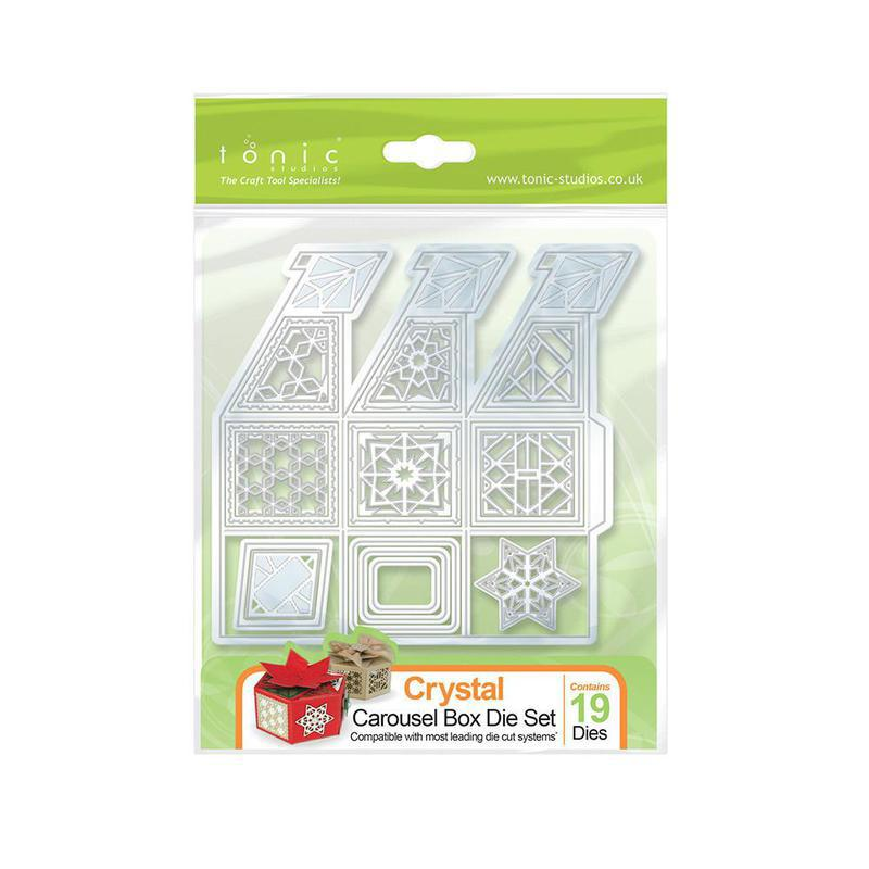 Tonic Studios - Keepsake - Crystal Carousel Box Die Set- 1020e