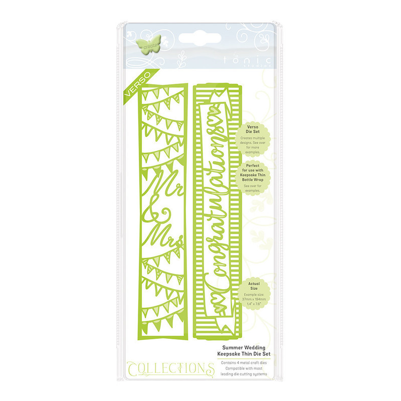 Collections - Indulgence Thins - Summer Wedding Keepsake - 1065E