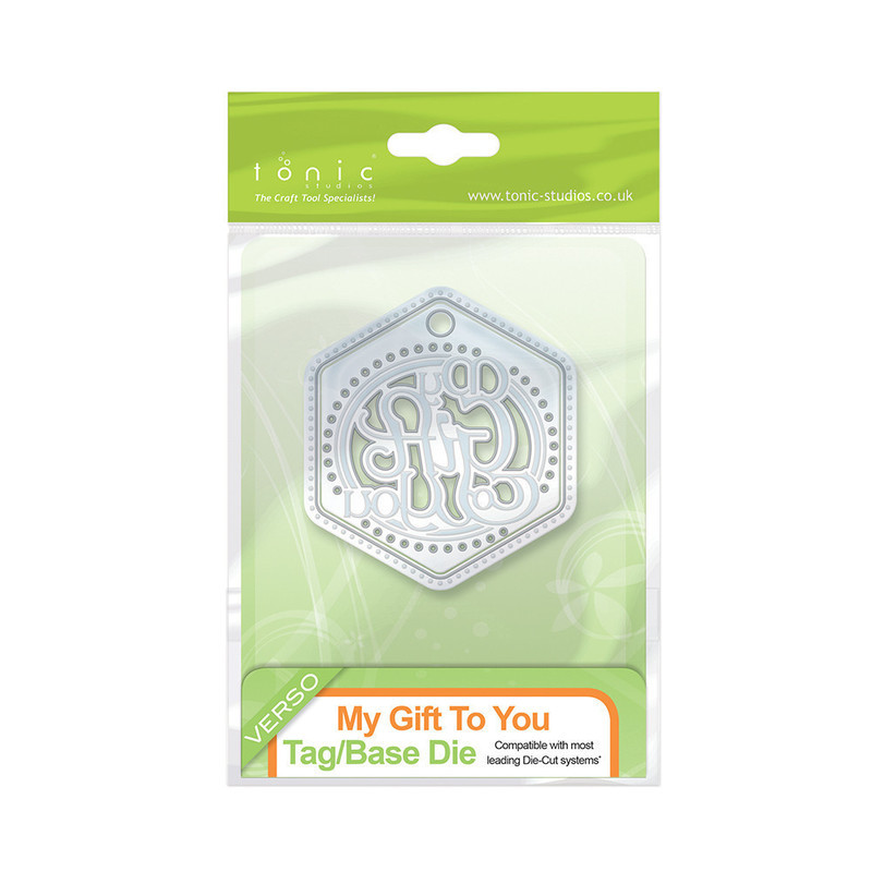 Indulgence Thins - My Gift To You Tag and Base Die - 1068e