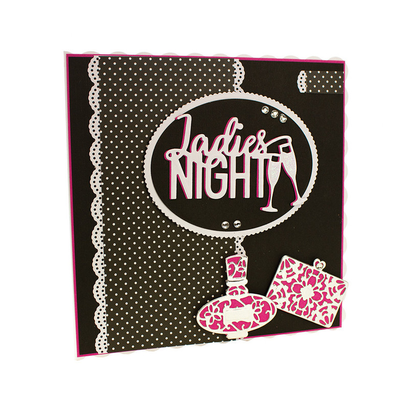 Girls Night Out Sentiment - Ladies Night - 1072E