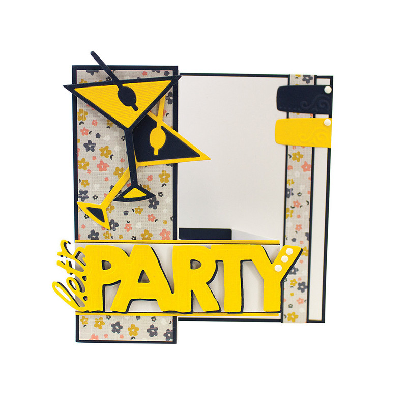 Girls Night Out Sentiment - Let's Party - 1073E