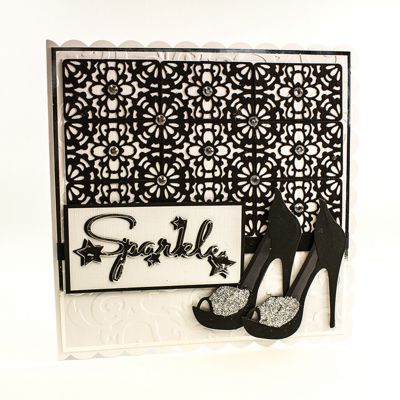 Girls Night Out Sentiment - Sparkle - 1074E