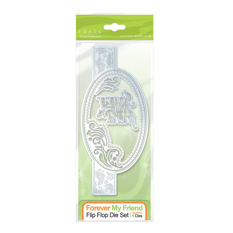 Flip Flop Die Set - Forever My Friend - 1115E
