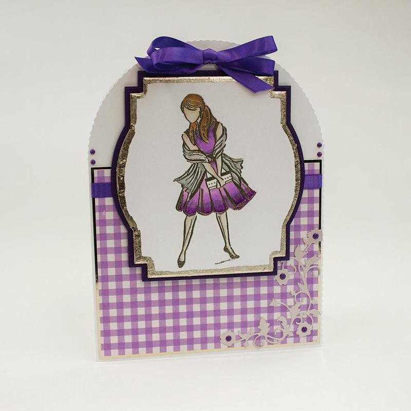 Exquisite Stamps - It Girl - 1131E