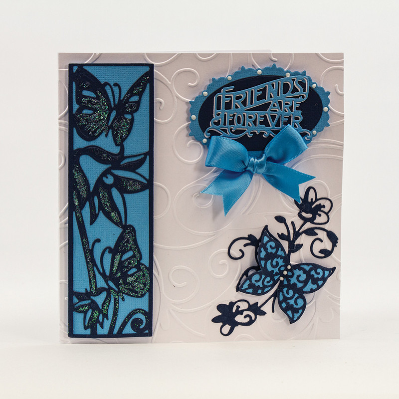 Double Detail Die and Stencil - Bluebell Meadow - 1138E