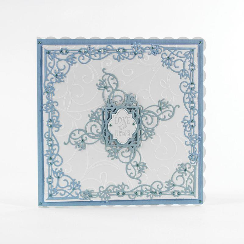 Decorative Mini - Floral Fancy - 1163E