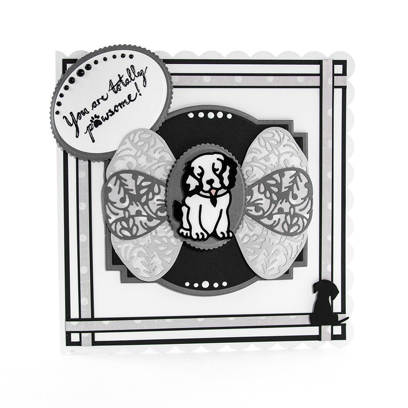 Rococo Pampered Pets - Harvey's Ledge Die Set - 1198E