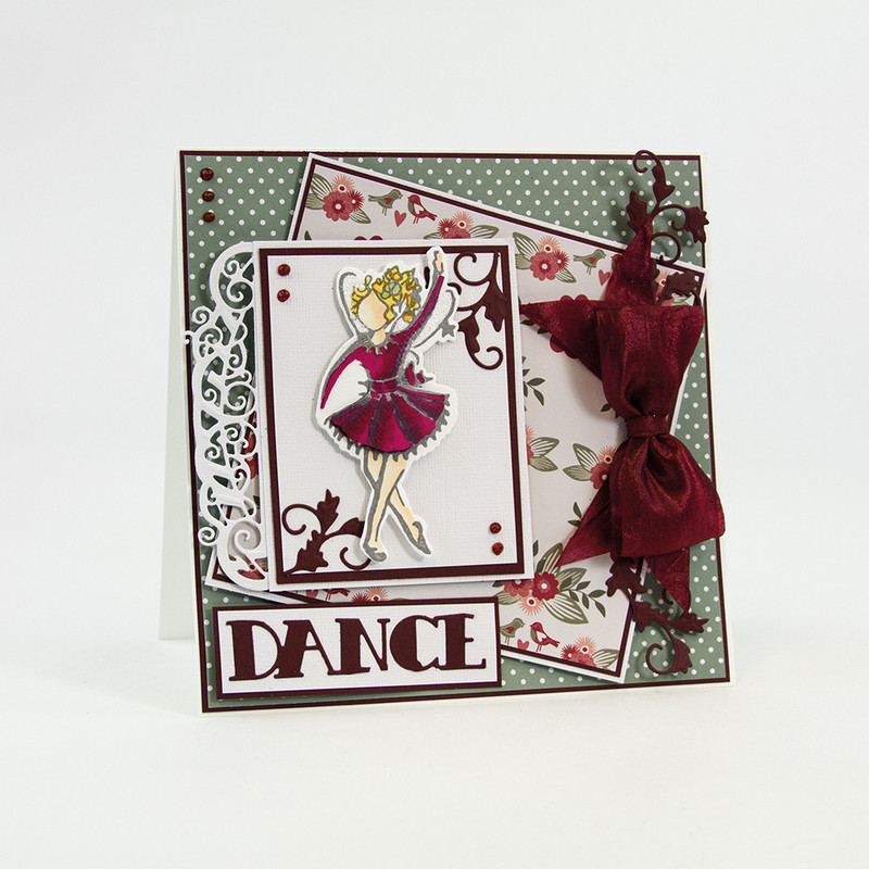 Fairies Reflection - Grace Fairies Die Set - 1204E