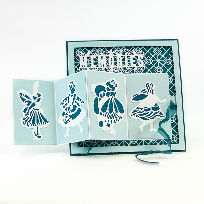 Fairies Reflection - Aurora Die Set - 1206E