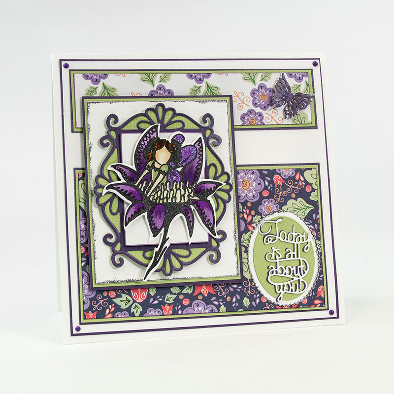 Fairy Reflection - Camillia Stamp Set - 1302E
