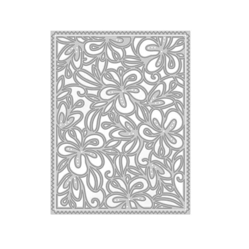 Patterned Panels - Floral Blooms - 1332E