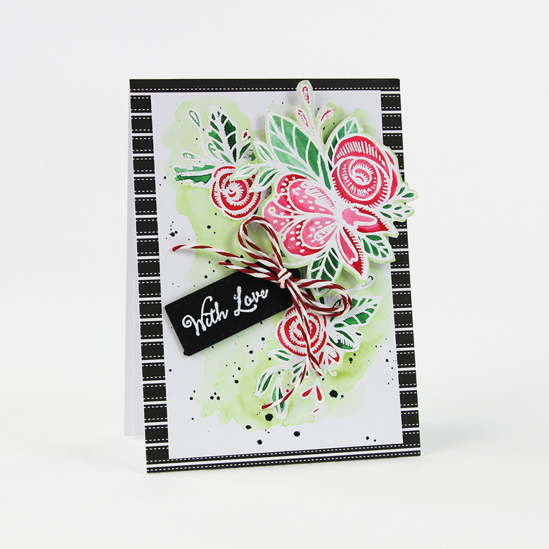 Essentials - Delicate Detail - Floral Flourish Stamp - 1338E