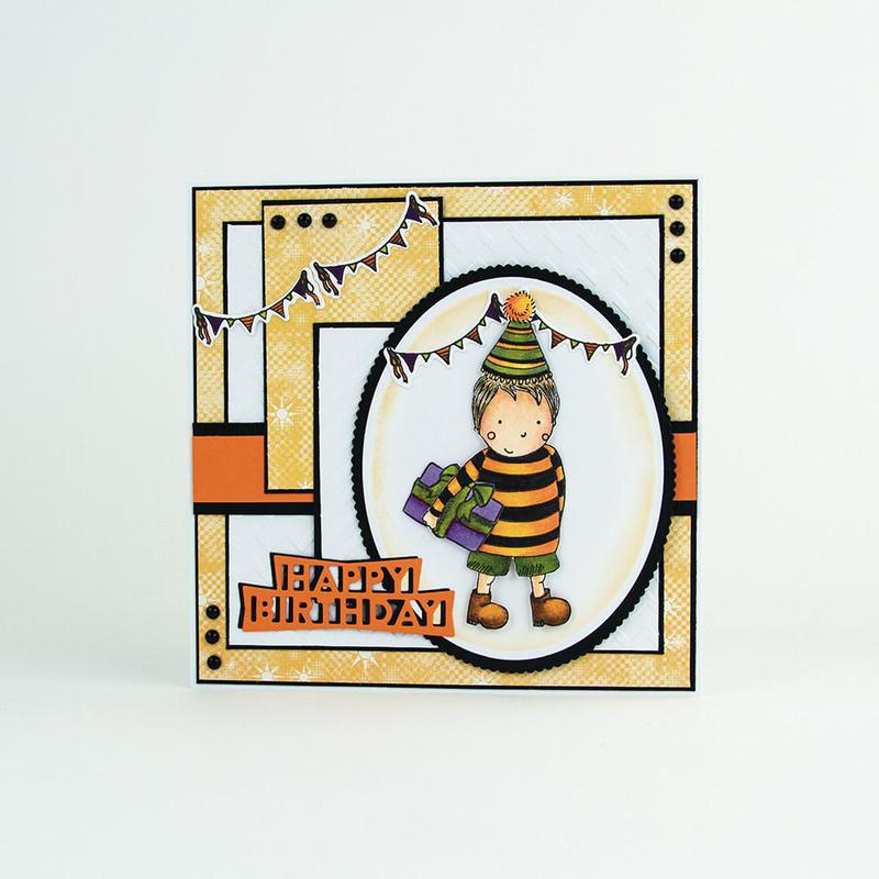 Marmalade's World Stamp Set - Henri & Heffi - 1347E