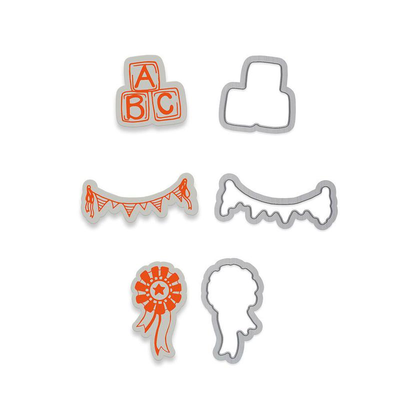 Marmalade's World Stamp Set - Accessory Set 1 - 1349E