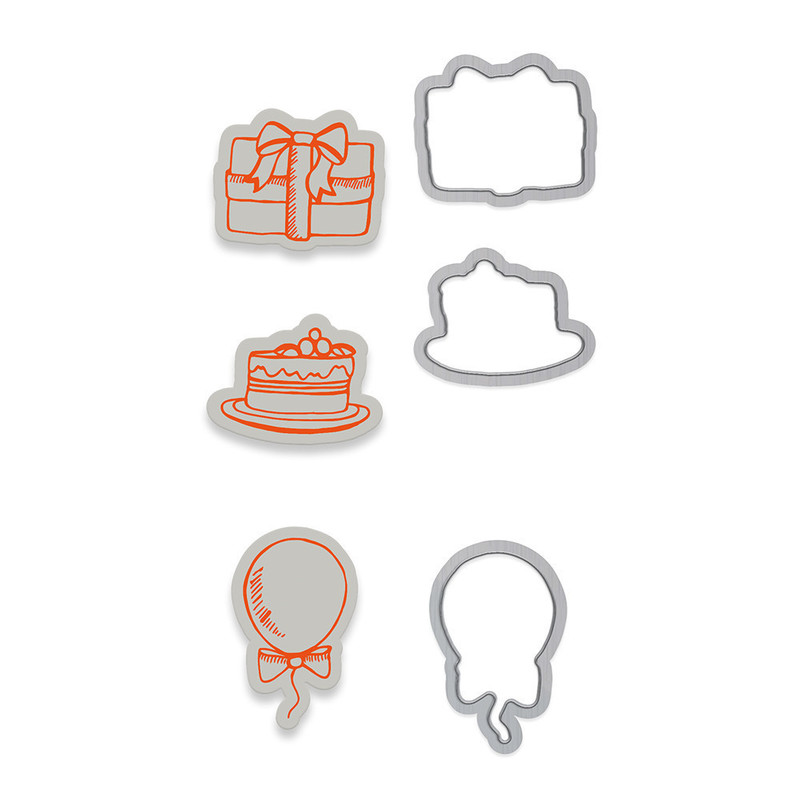 Marmalade's World Stamp Set - Accessory Set 3 - 1351E