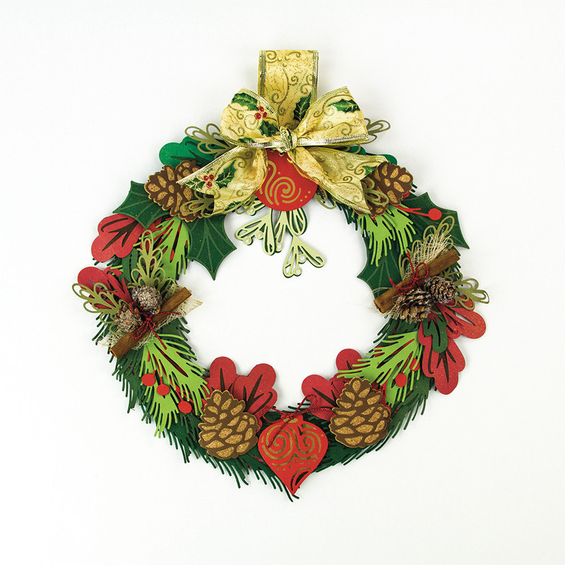 Build a Wreath - Pine Leaf - 1387E