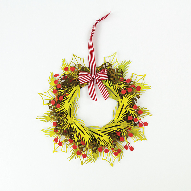 Build a Wreath - Holly Leaf - 1392E