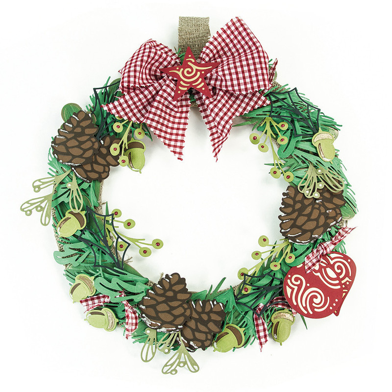 Build a Wreath - Round Bauble - 1395E
