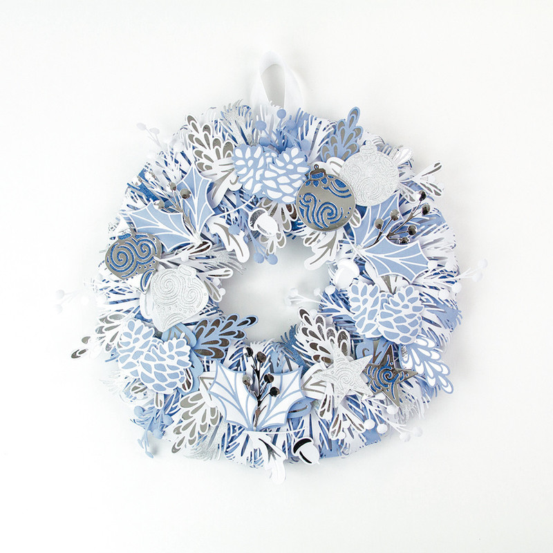 Build a Wreath - Star Bauble - 1397E