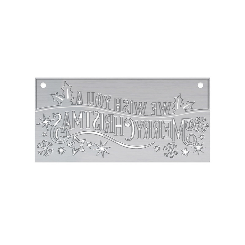Christmas Header Fold - Merry Christmas - 1409E