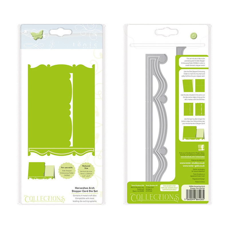 Collections - Side Stepper Embossing Folder Set - 1428E