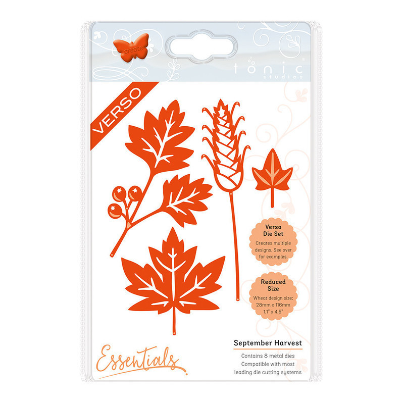Autumn Die Collection - September Harvest - 1432E