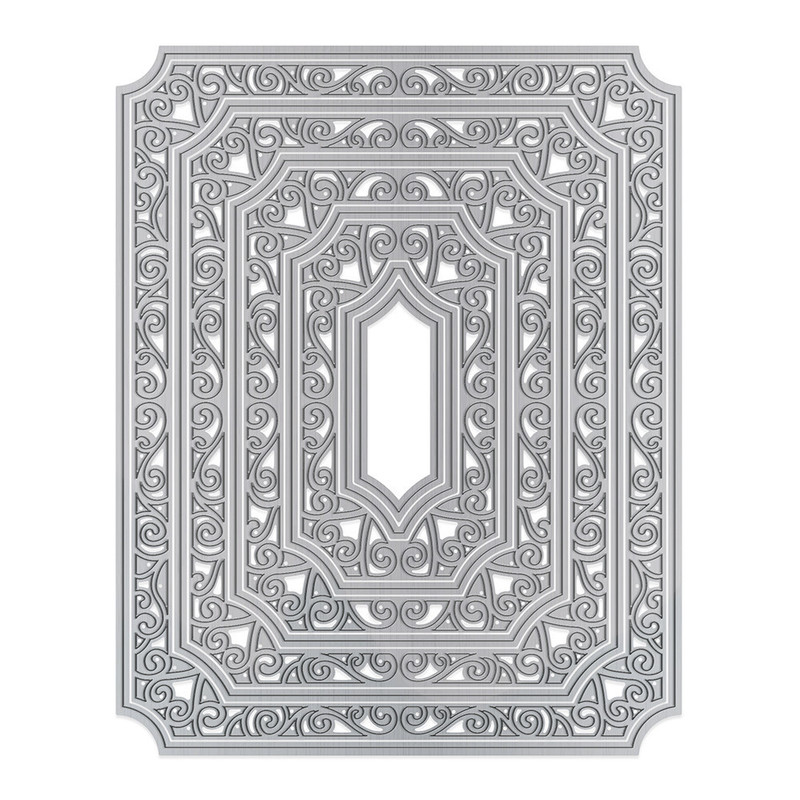 Essentials - Swirling Frame Layering Die Set - 1462E