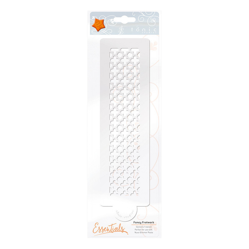 Essential Stencil - Fancy Fretwork - 1479E