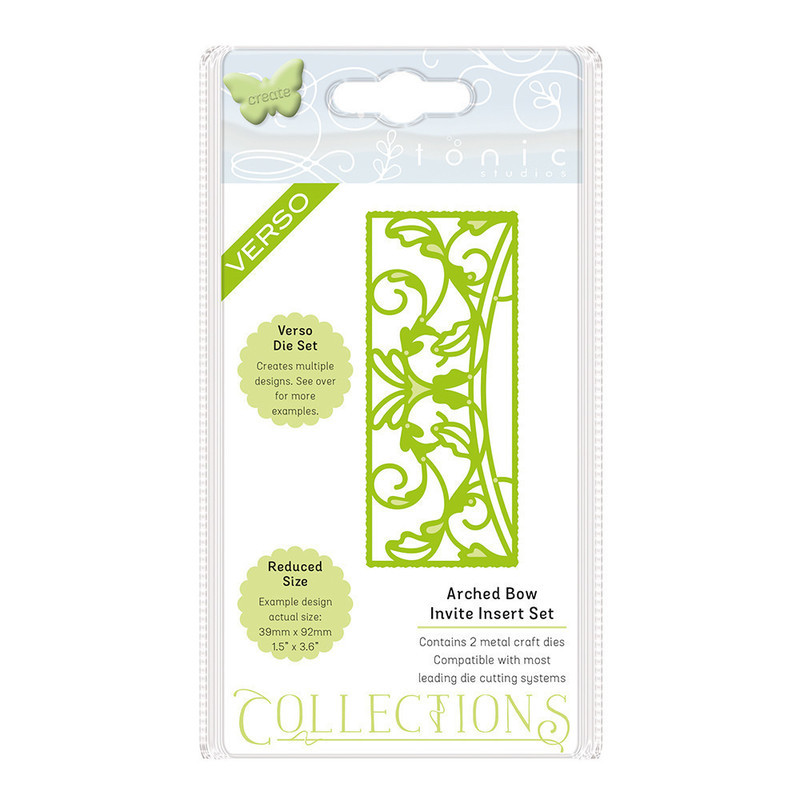 Invite Die Collection - Arched Bow - 1506E