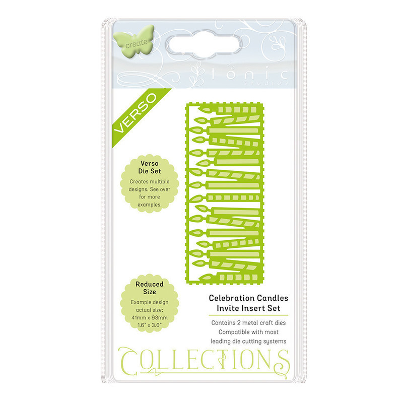 Invite Die Collection - Celebration Candles - 1508E