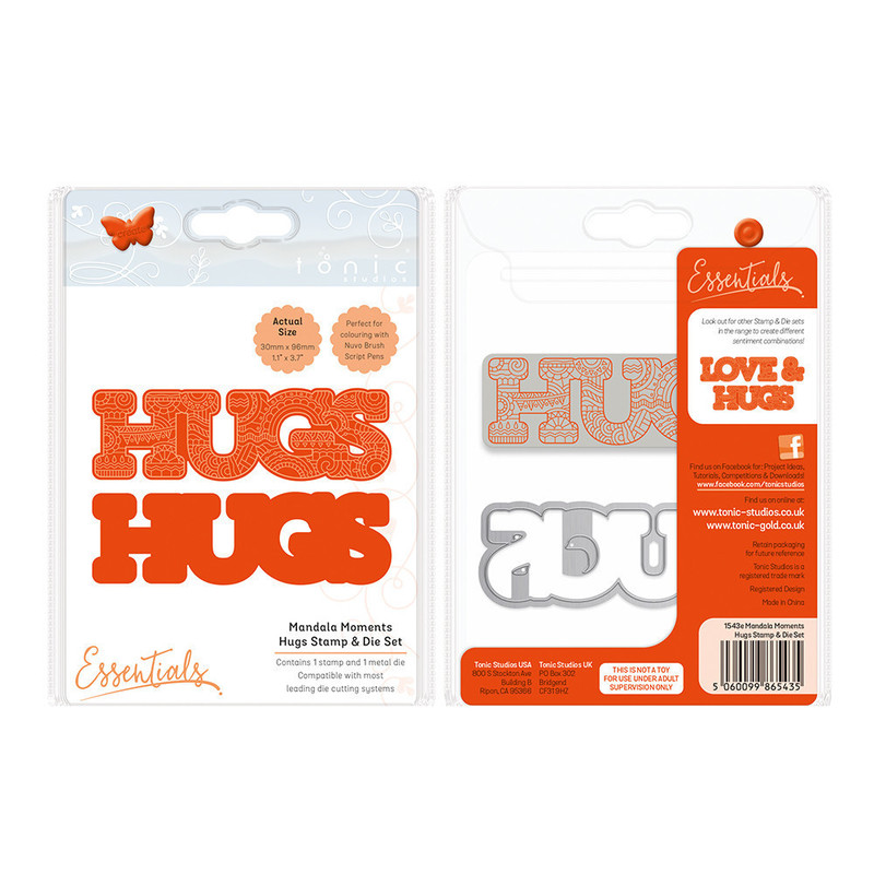 Mandala Moments - Hugs Stamp & Die Set - 1543E