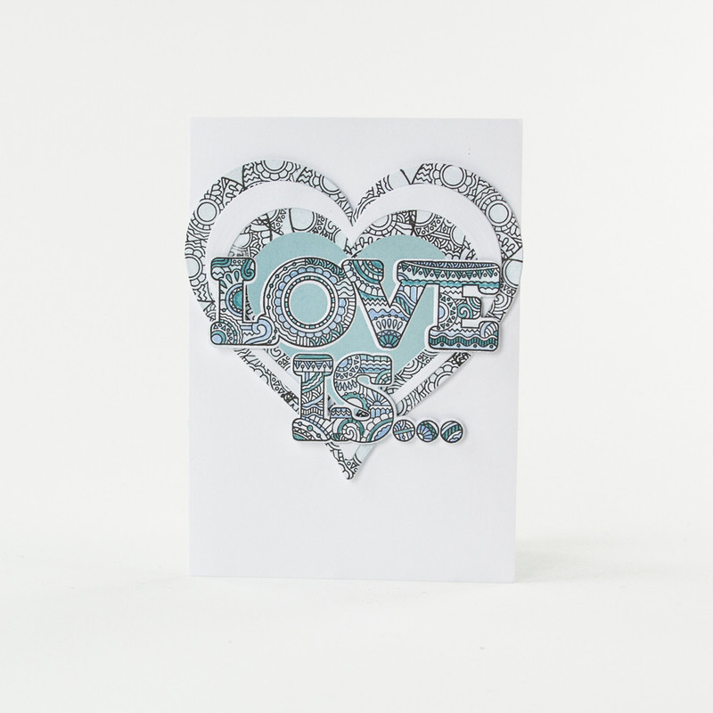 Mandala Moments - I/ Is / & Stamp & Die Set - 1547E