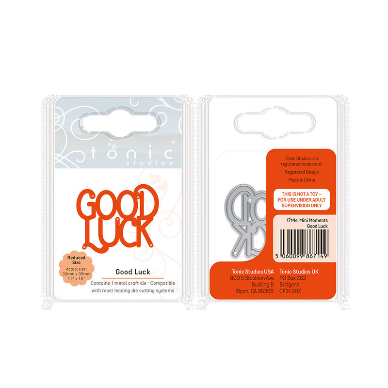 Essentials - Mini Moments - Good Luck - 1714E