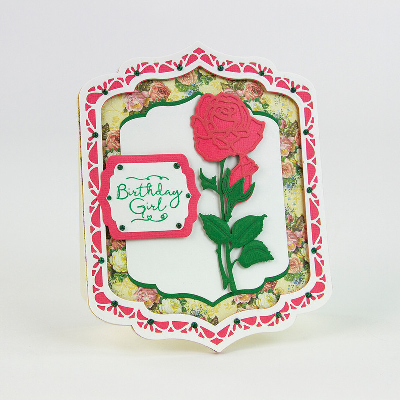 Essentials - Flowers & Flourishes - Roses Red - 1726E