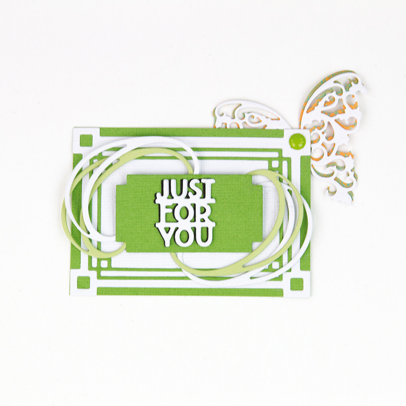 Essentials - Artist Trading Cards - Just For You - 1732E