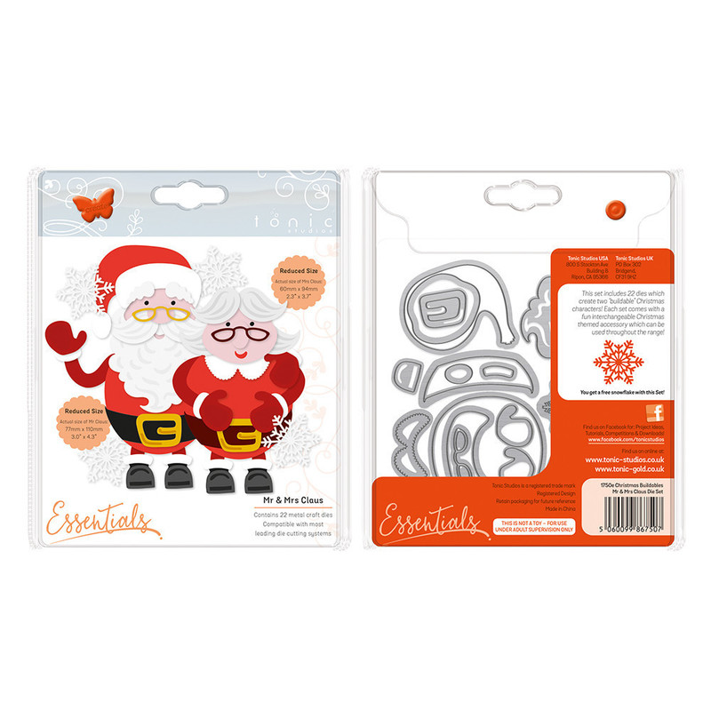 Essentials - Christmas Buildables - Mr & Mrs Claus - 1750E