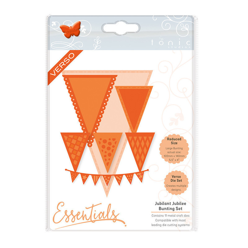 Essentials - Beautiful Bunting Jubilant Jubillee - 1798E