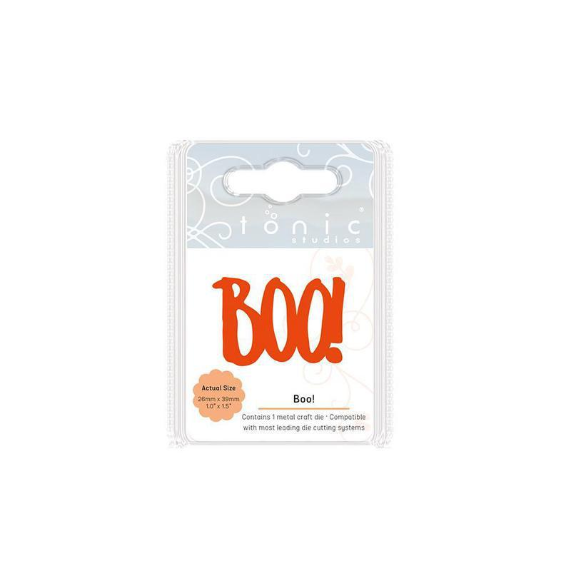 Essentials - Mini Moments Sentiments - Boo! - 1864E