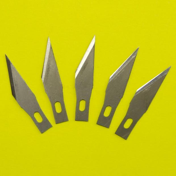5 Spare Blades for Kushgrip Art Knife - 204E