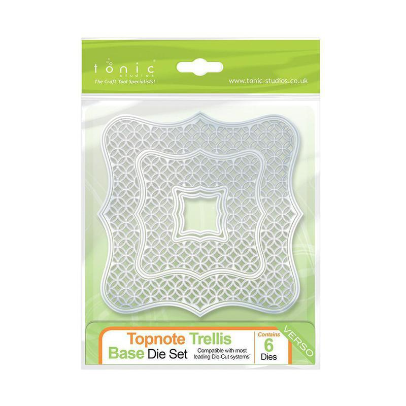 Topnote Trellis Base Die Set - 507e
