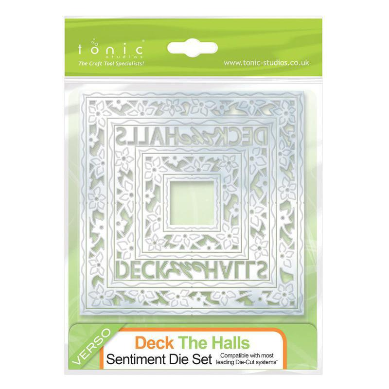 Deck The Halls Square Sentiment - 565E