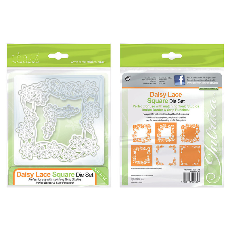 Intrica Die - Daisy Lace Square - 585E