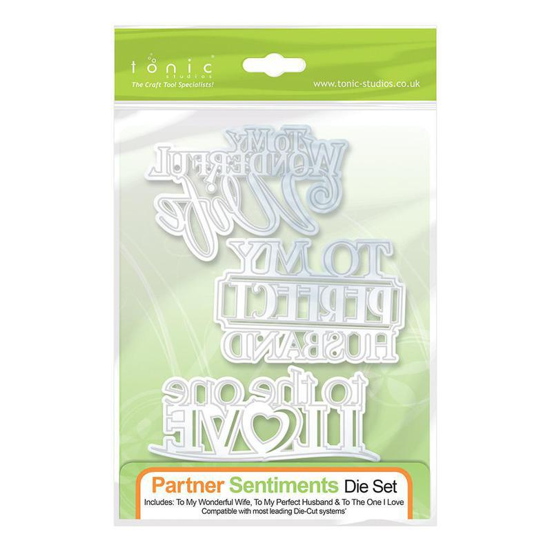 Partner Sentiment Die Set - 605E