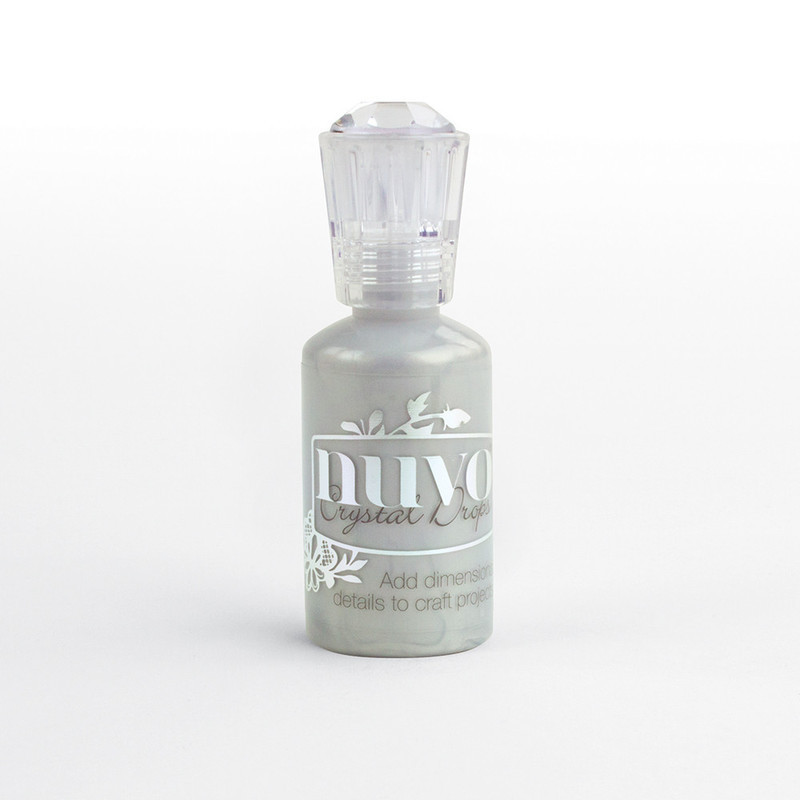 Nuvo Crystal Drops Collection - Metallic Silver Lining - 655n