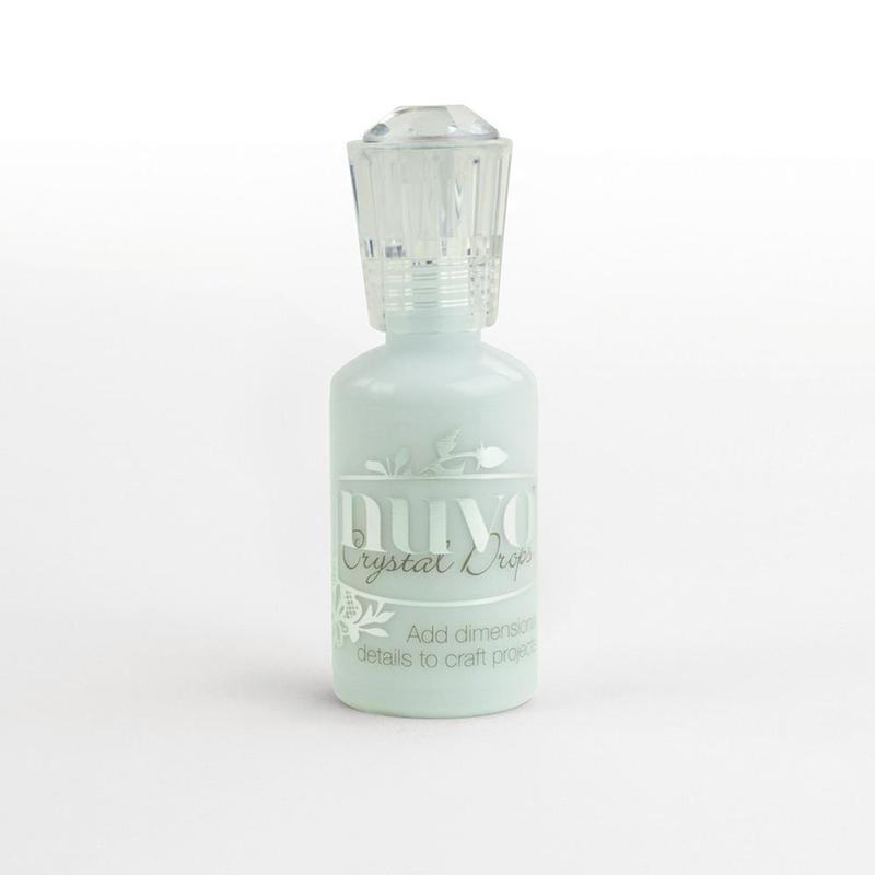 Nuvo Crystal Drops - Duck Egg Blue - 680N