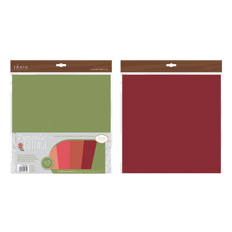 Romantic Cottage Plain Paper Pack - 774E