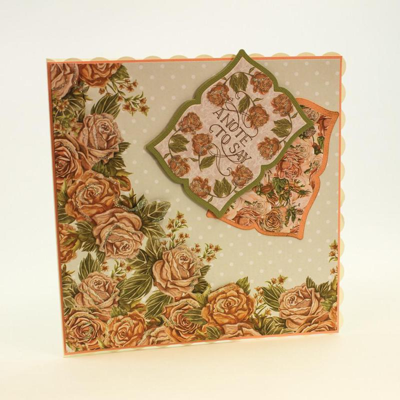 Memento Frame Die - Mounted Rose - 778E